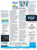Pharmacy Daily for Thu 13 Feb 2014 - New Guild 5CPA deal, Still Closing the Gap, US pharmacy vax praised, Travel Specials and much more