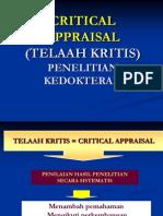 CRP K-5 Critical Appraisal