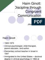 Congruent Communication by Haim Ginott