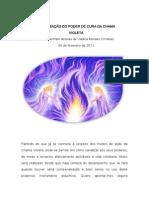 CANALIZAÇÃO DO PODER DE CURA DA CHAMA VIOLETA