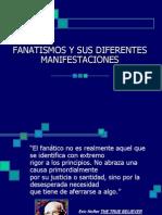 FANATISMO LEVES CONSECUENCIAS