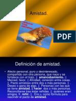 La Amistad.ppt
