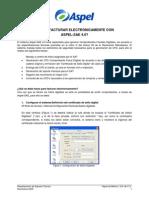 Como Facturar Electronicamente Con Aspel SAE40