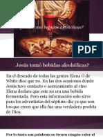 Jesús y el vino