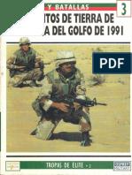 Osprey - Ejercitos y Batallas 03 - Tropas de Elite 02 - Los Ejercitos de Tierra de La Guerra Del Golfo de 1991