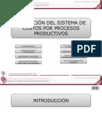Presentacion en PowerPoint Numero 4 S4 Aplicacion Del Sistema de Costos Por Procesos Productivos