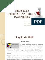 Ejercicio Profesional de La Ingenieria
