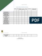 Planilla Entrega Documentos Solicitados