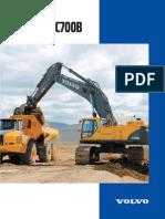 Excavator Product Brochure