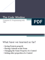 The Code Window