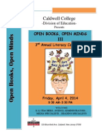 Caldwell College Literary Conference