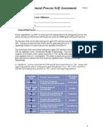 Risk Management Process Self Assessment