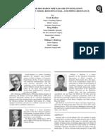 Compressor Discharge Pipe Failure Investigation, Kushner, Walker and Hohlweg