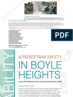 Pedestrian Environmental Quality Index Part I