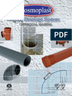 Cosmoplast Upvc Drainage Pipes Fittings