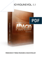 8dio Adagio Violins Manual