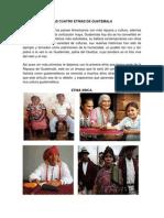 Las Cuatro Etnias de Guatemala