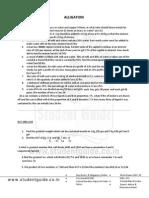 Quantitative Practice Set