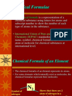 3E Chemical Formulae
