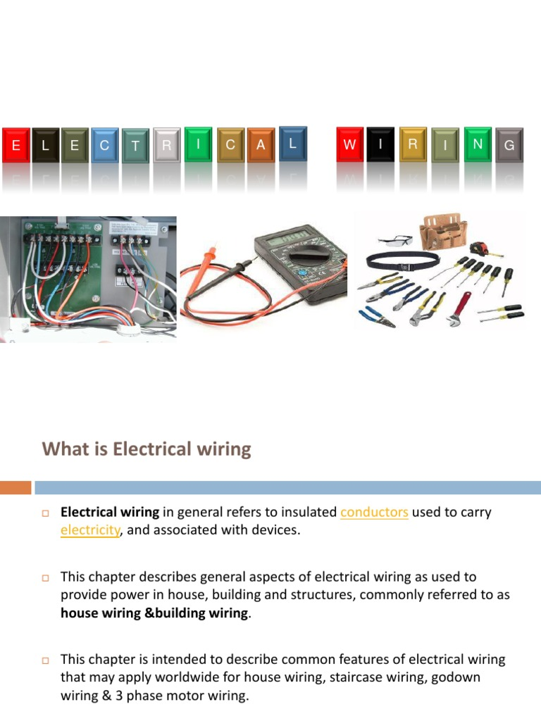 Godown Wiring Theory Pdf Library Basic Electrical