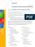 Quick Guide to the Territory Plan