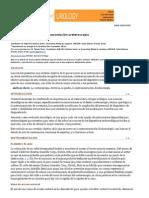 Actualización sobre la instrumentación ureteroscopia