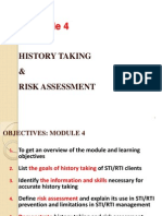Module 4 - History Taking and Risk Assessment (1)