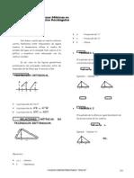 Relaciones Métricas en Triángulos Rectángulos