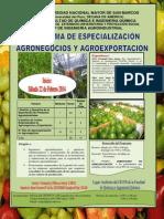 Agroexportación volante