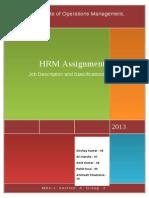 Job Description_Group 2_Section A