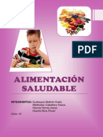 Alimentacion y Nutricion Saludable