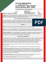 Ficha de Emergencia - Facho Manual Pwss
