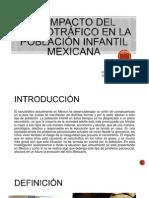 El impacto del narcotráfico en la población infantil