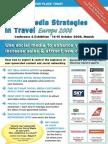 EyeforTravel - Social Media Strategies in Travel Europe 2008