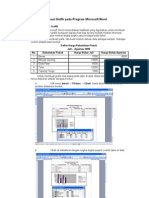 13. Membuat Grafik Pada Program Microsoft Word