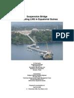 Suspension LNG Bridge