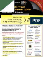 Eye for Travel - Travel Technology Summit 2009