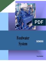 Boiler feed pumps HRSG