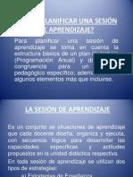CÓMO PLANIFICAR UNA SESIÓN DE APRENDIZAJE.pptx
