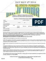 car registration 2014