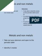 Metals and Non Metals Pp