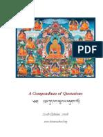 Compendium of Tibetan Buddhist Quotations Version 6