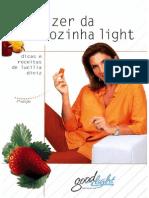 Livro de Receitas O Prazer Da Cozinha Light