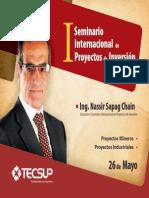I Seminario Internacional de Proyectos de Inversión_ TECSUP