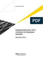Applying IAS 19 Revisions for Employee Benefits