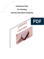 Business Plan for Starting a Chocolate Company