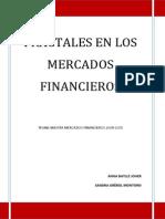 Tesina Fractales en Los Mercados Financieros