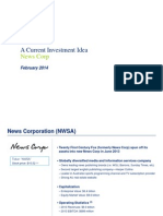 2014.02 News Corp Investment Idea