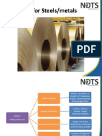 NDT Steel Metal