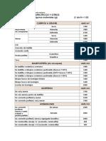 Pesos Volumetricos Pro 2
